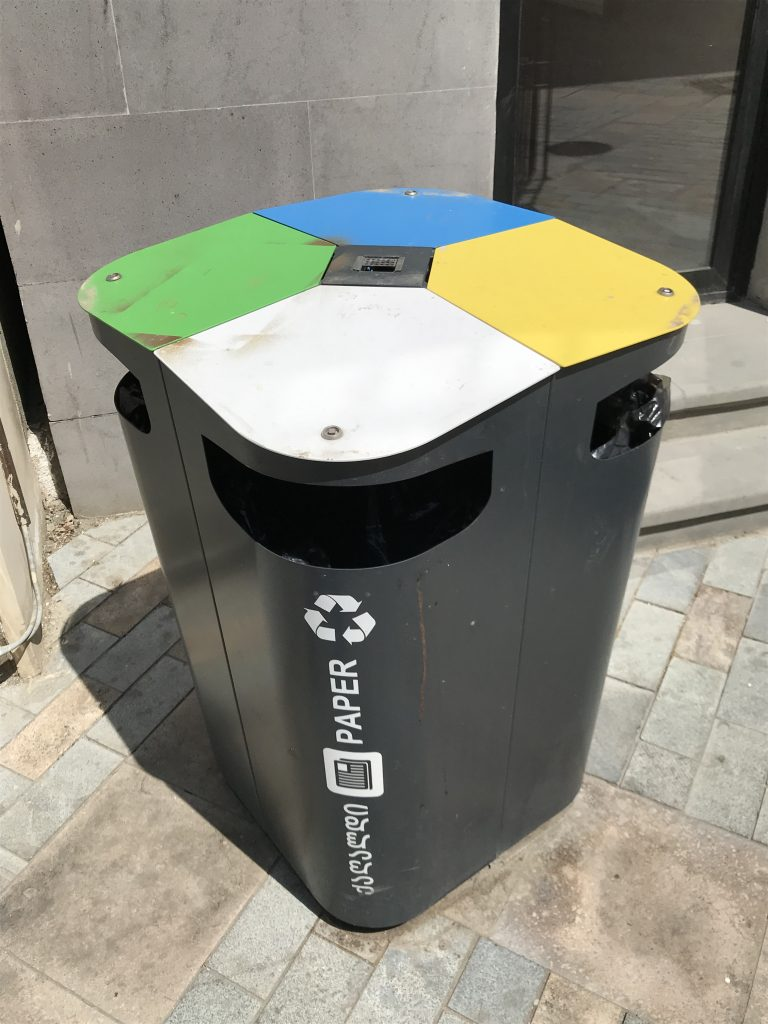 Reciclaje en Tbilisi