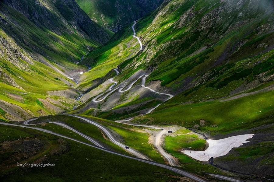La carretera de Tusheti está considerada como la más peligrosa del mundo