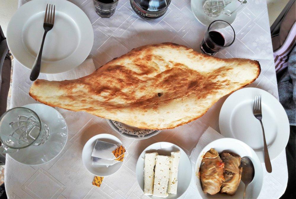 Gastronomía de Georgia: Pan de Georgia