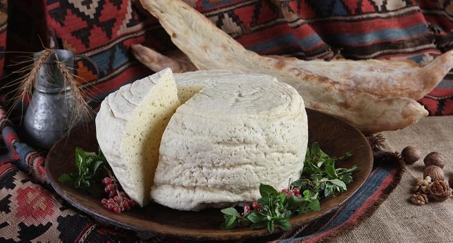 Gastronomía de Georgia: Queso Guda