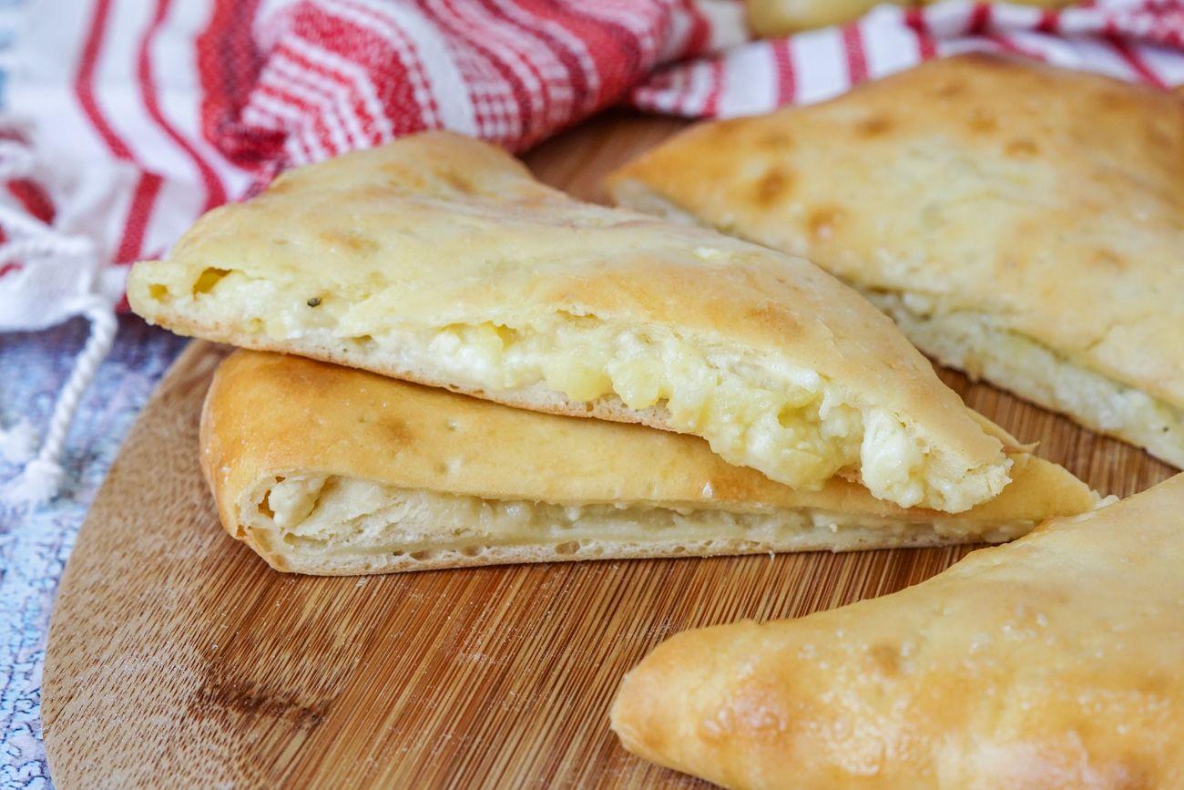Gastronomía de Georgia: Ossetian Khachapuri
