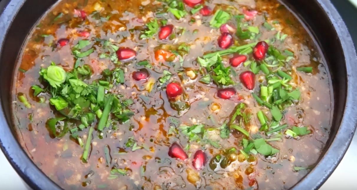 Gastronomía de Georgia: Kharcho