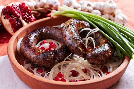 Gastronomía de Georgia: Kupati