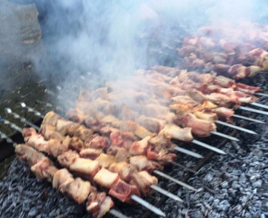 Gastronomía de Georgia: Mtsvadi