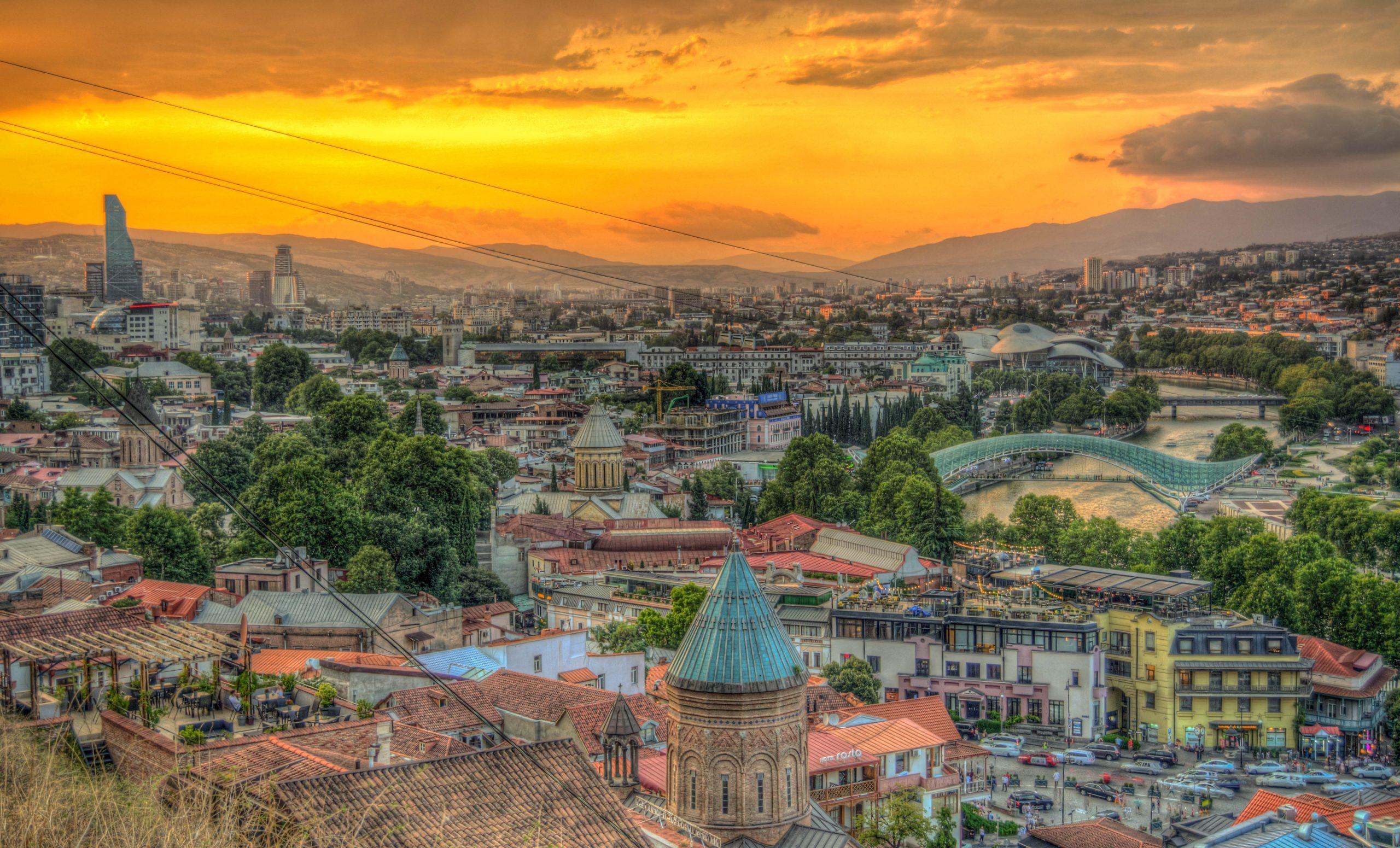 Regiones de Georgia: Tiflis o Tbilisi (Capital: Tiflis o Tbilisi)