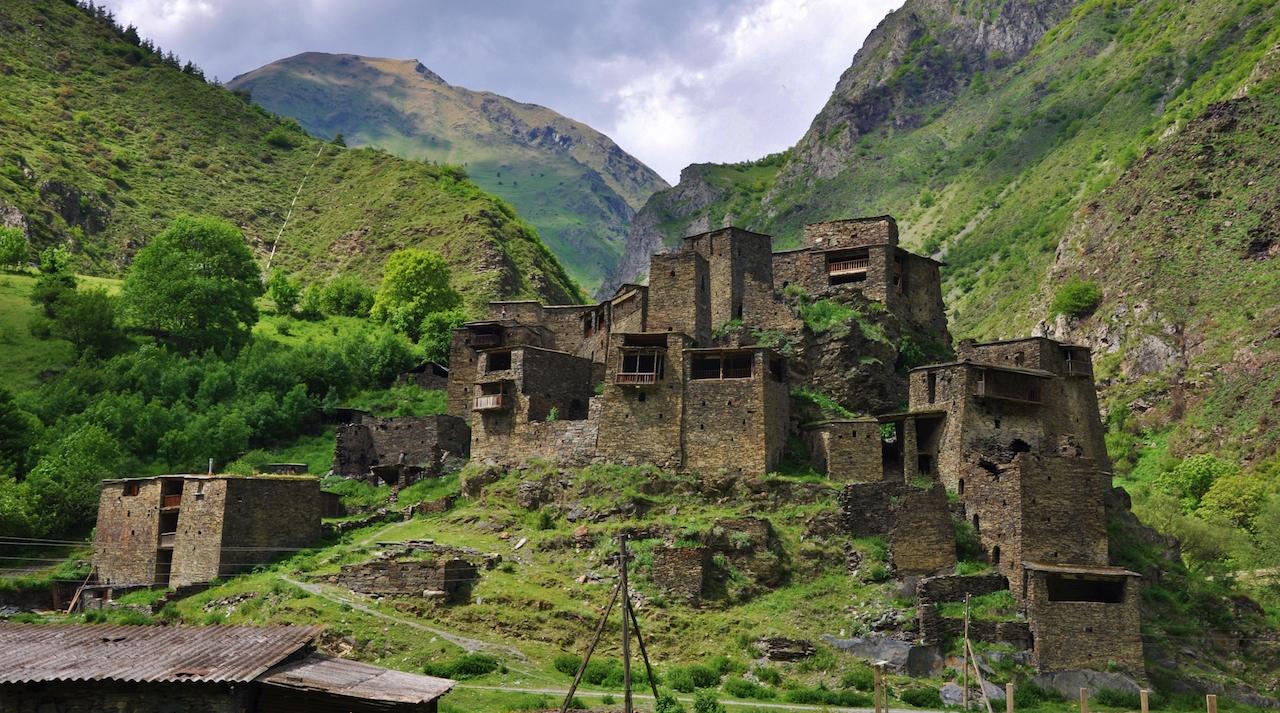 Áreas de Mtskheta-Mtianeti: Dusheti