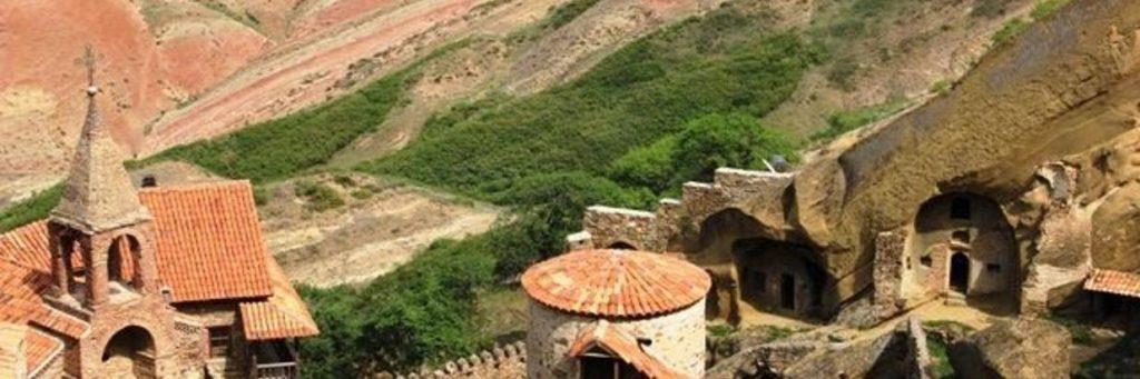 Lugar en Kajetia: Monasterio David Gareja