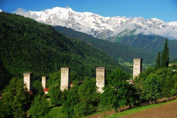 Áreas de Racha-Lechkhumi y Kvemo Svaneti: Tsageri