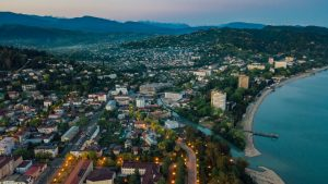 Regiones de Georgia: Abjasia (Capital: Sujumi)
