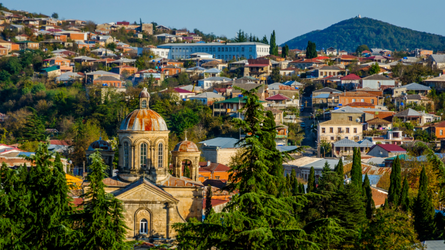 Regiones de Georgia: Imereti (Capital: Kutaisi)