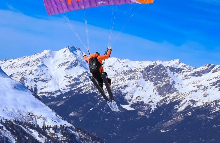Deportes de aventura en Gudauri: Speedriding