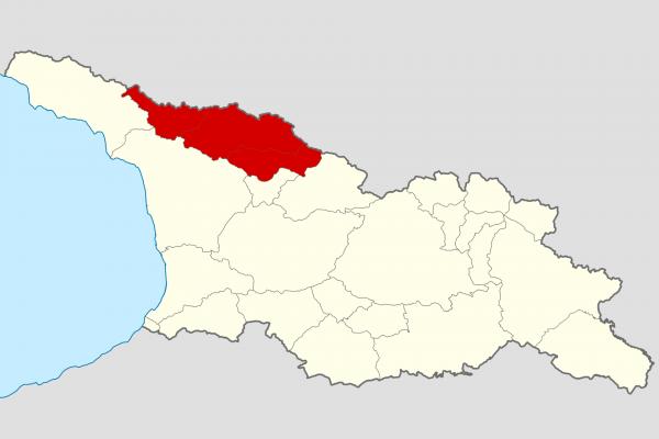Terreno histórico de Svaneti